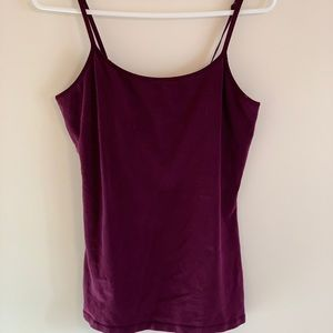Express wine colored cami